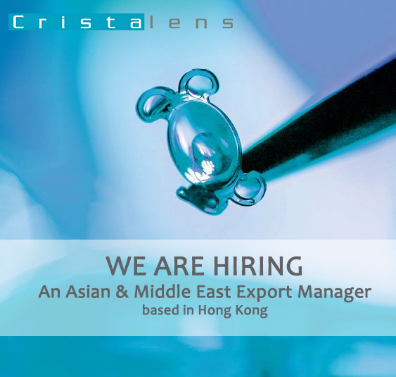 We are Hiring - Export manager in HK