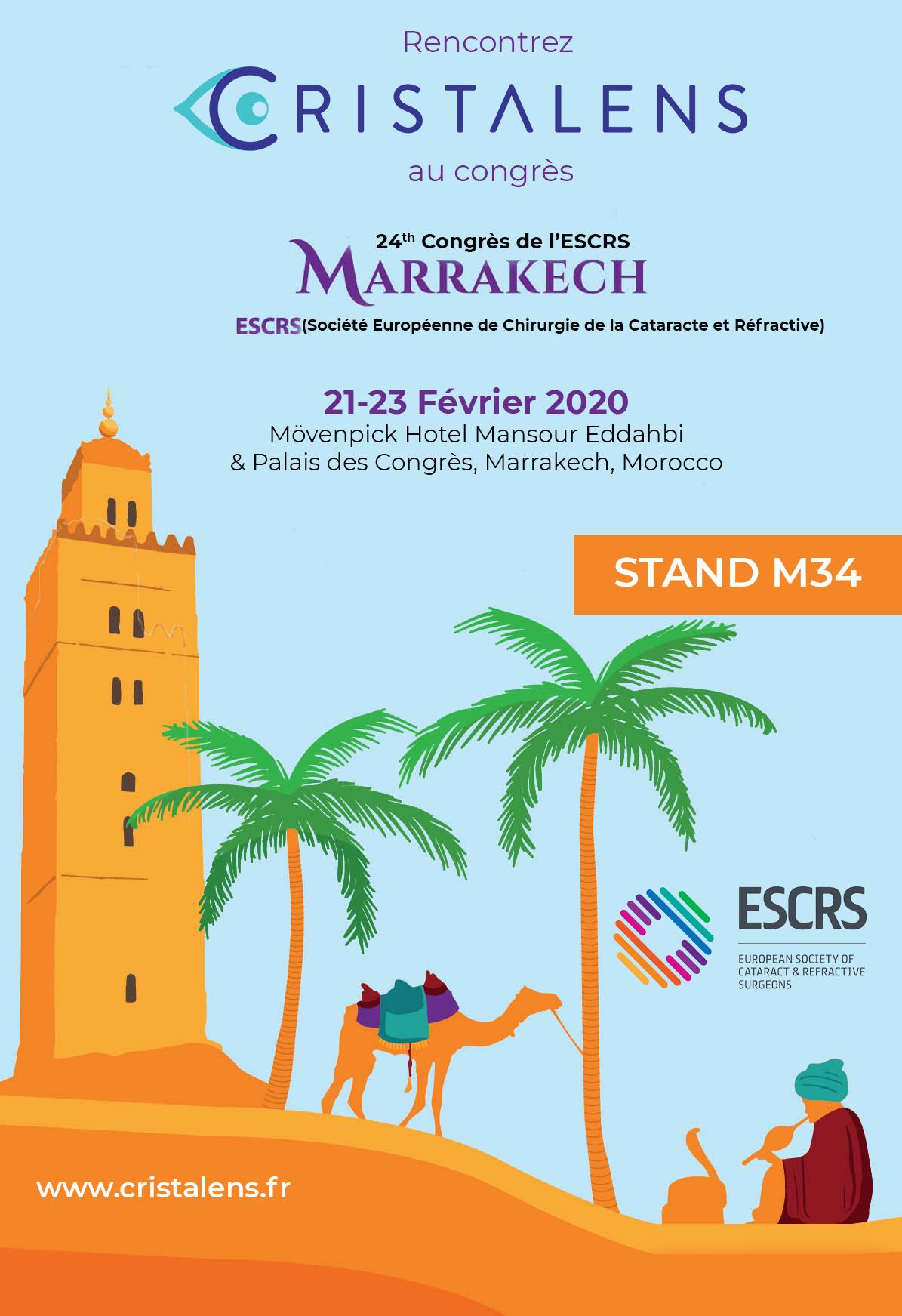 ESCRS Marrakech 2020_Version FR